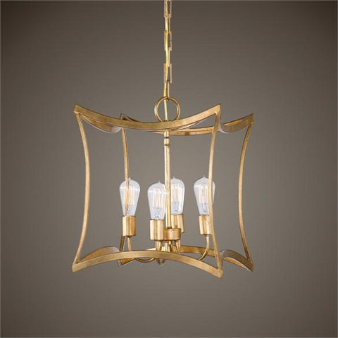 Uttermost Dore 4 Light Lantern Pendant (22074) - UTMDirect