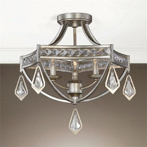Uttermost Tamworth Modern 3 Light Semi Flush (22275) - UTMDirect