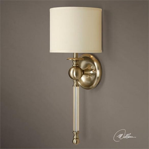 Uttermost Vairano 1 Light Bronze Wall Sconce (22496) - UTMDirect