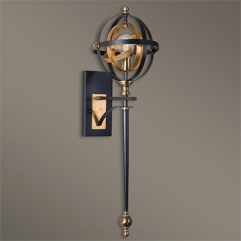 Uttermost Rondure 1 Light Oil Rubbed Bronze Sconce (22497) - UTMDirect