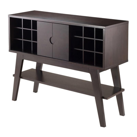 Winsome Wood 23152 Monty wine Console Table - Peazz.com - 1