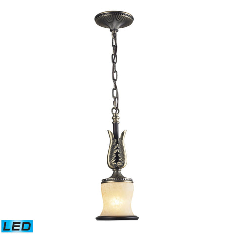 ELK Lighting 2426/1-LED Georgian Court Collection Antique Bronze,Dark Umber Finish - PeazzLighting