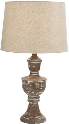 "Bayden Hill +Wd Table Lamp 28""H (A+B) - Peazz.com"