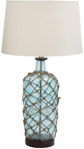 "Bayden Hill +Gls Wd Table Lamp 29""H (A+B) - Peazz.com"