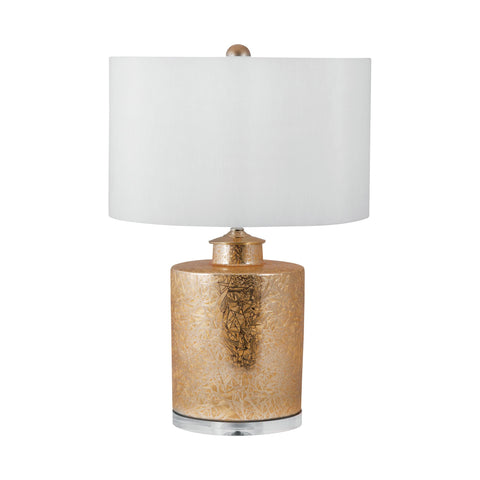 Lamp Works LAM-251 Glam Collection Gold Finish Table Lamp