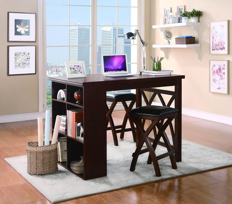 Homelegance Color Warm Brown Cherry Mably