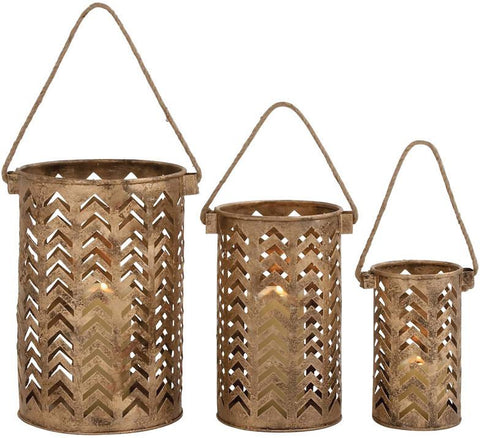 Benzara 26844 Exclusive Unique Styled Metal Lantern