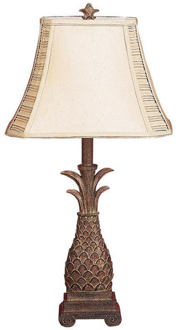 Benzara 27072 Polystone Table Lamp Delivers Unique Lighting Effect