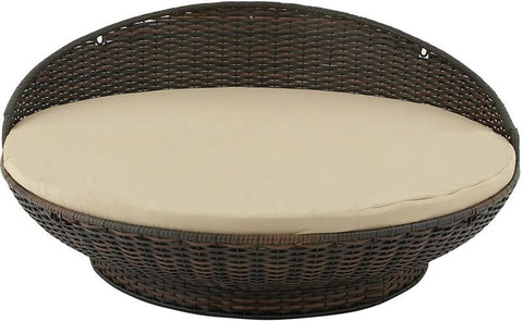 "Bayden Hill Mtl Pe Rattan Daybed 72""W, 32""H - Peazz.com"