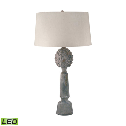 Lamp Works LAM-276-LED Ceramic Collection Matte Finish Table Lamp