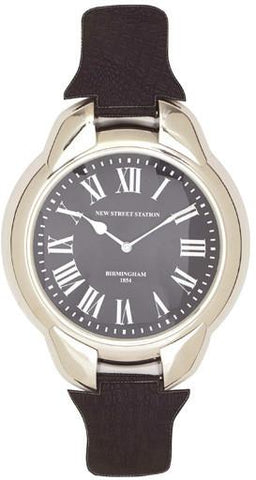 Benzara 27893 Shiny Finish Classy Stainless Steel Wall Clock