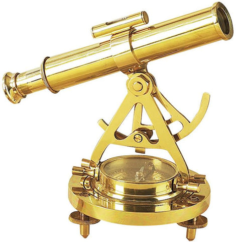Benzara 28147 Brass Telescope Compass Feel The Distant Objects Nearer