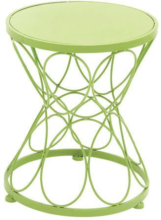 Benzara 28905 Fantastic Green Polished Metal Green Plant Stand