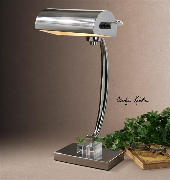 Uttermost | Chrome | Desk | Lamp