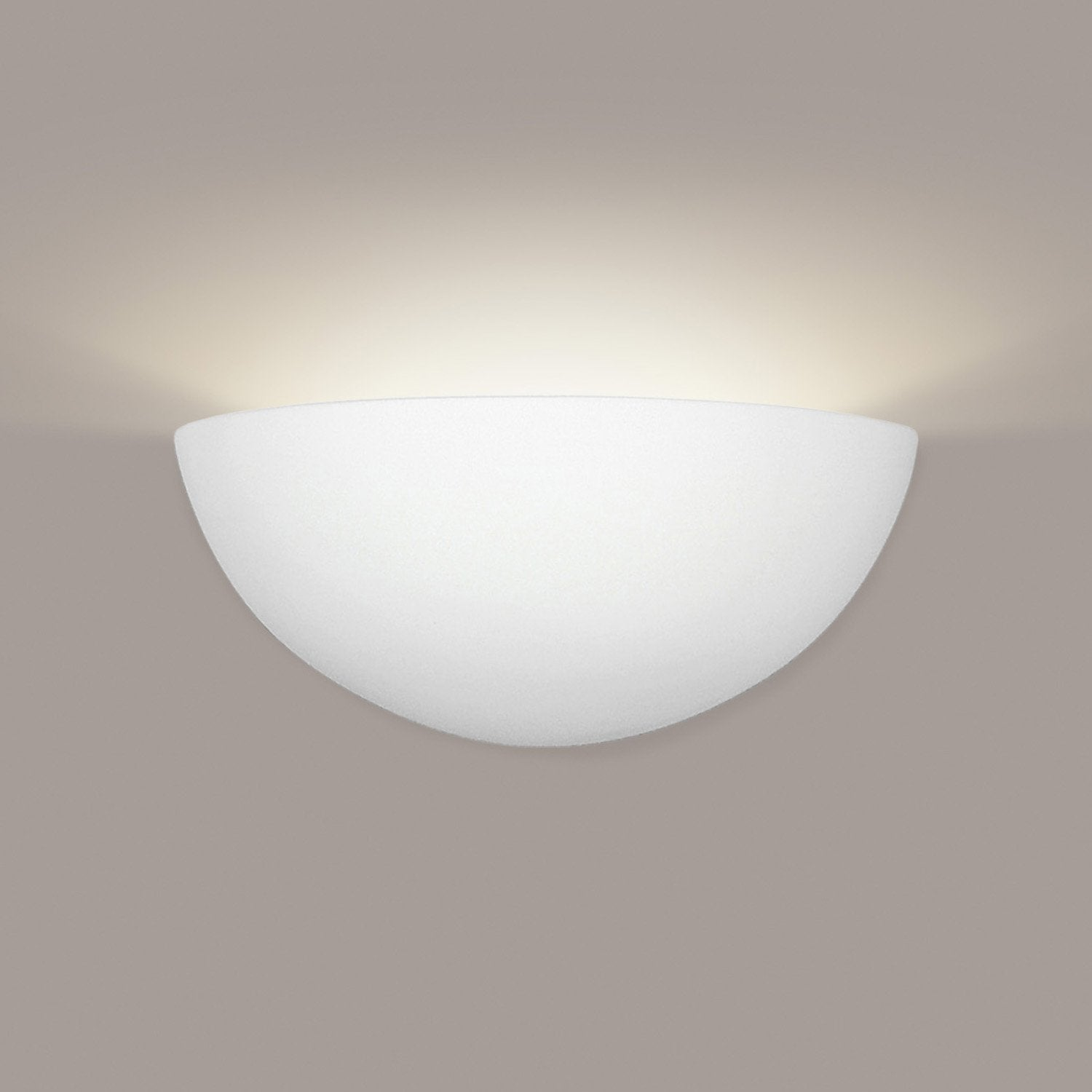 A19 302-MW Islands of Light Collection Thera Matte White Finish Wall Sconce