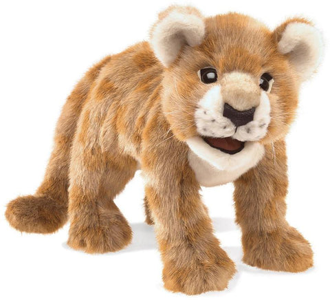 Folkmanis 3064 African Lion Cub, Hand Puppet - Peazz.com