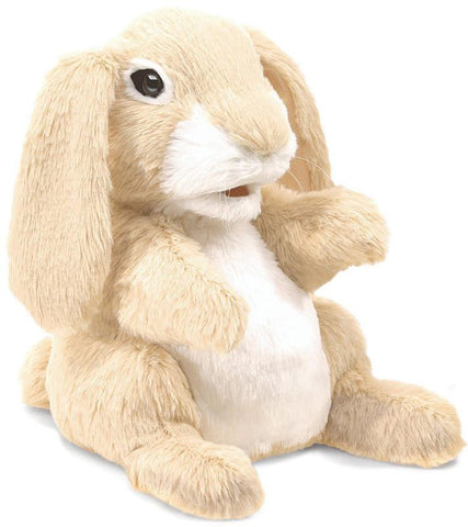 Folkmanis 3074 Sniffing Rabbit, Hand Puppet - Peazz Toys