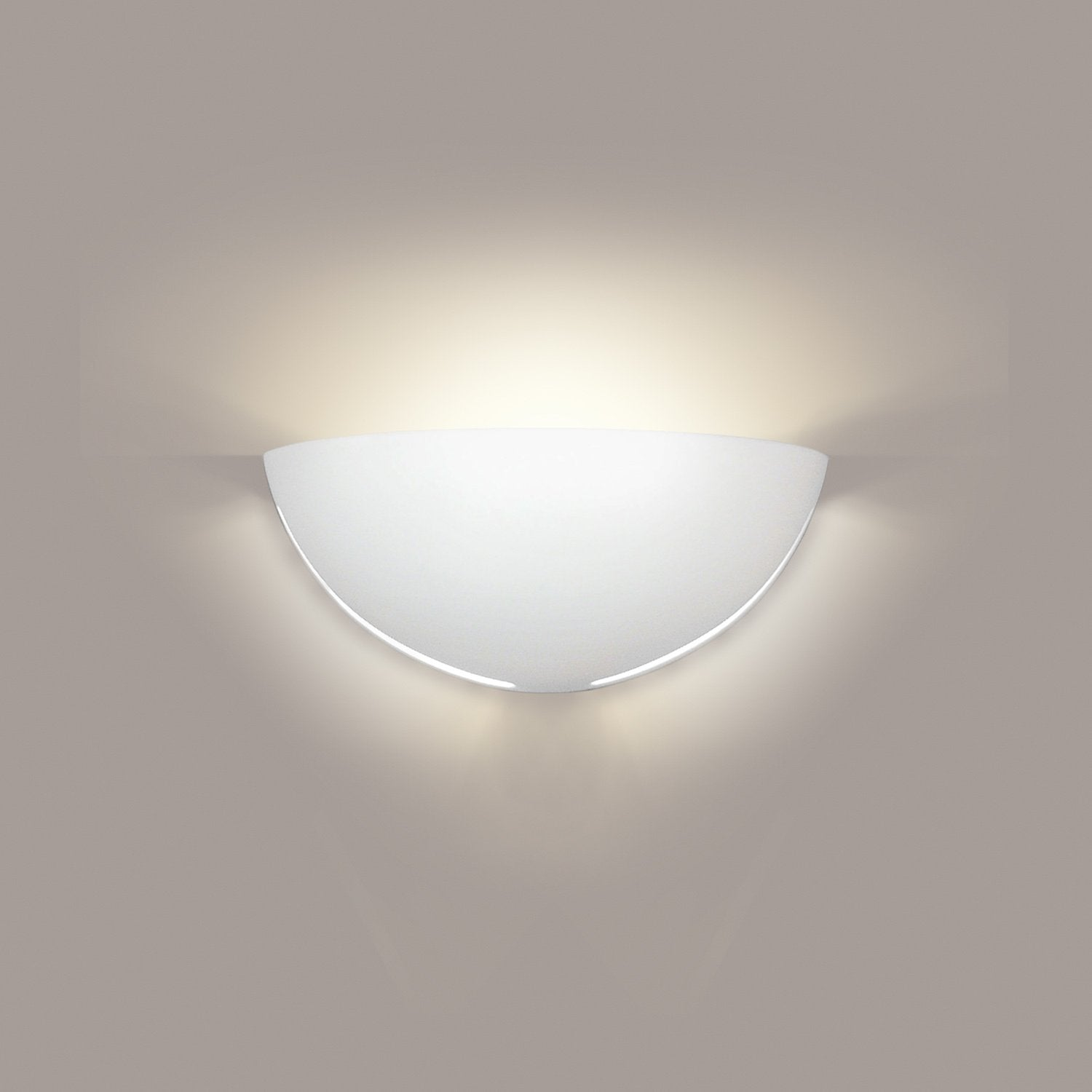 A19 307-PS Islands of Light Collection Capri Pistachio Finish Wall Sconce