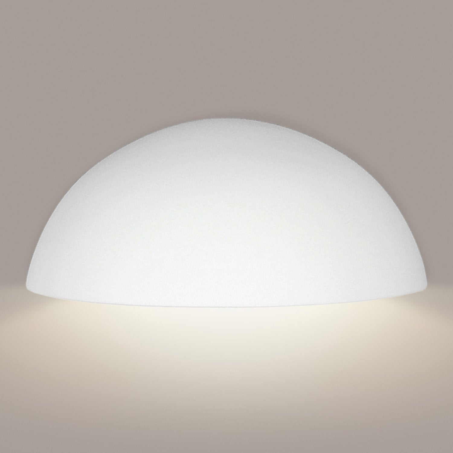 A19 309D-GU24-A2 Islands of Light Collection Thera Straw Finish Wall Sconce
