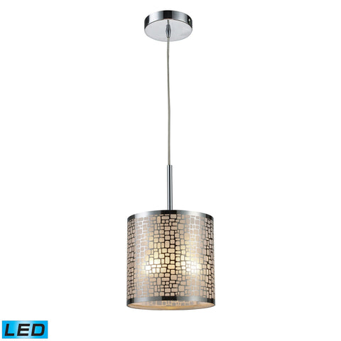 ELK Lighting 31041/1-LED Medina Collection Polished Stainless Steel Finish - PeazzLighting