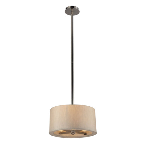 ELK Lighting 31334/3 Jorgenson Collection Polished Nickel Finish - PeazzLighting
