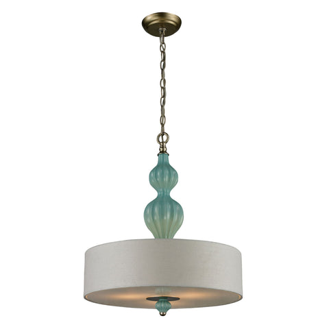 ELK Lighting 31362/3 Lilliana Collection Aged Silver Finish - PeazzLighting