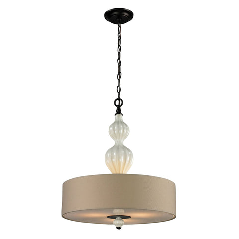 ELK Lighting 31372/3 Lilliana Collection Aged Bronze Finish - PeazzLighting