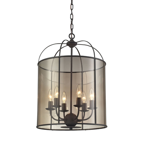 ELK Lighting 31398/6 Fenton Collection Oil Rubbed Bronze Finish - PeazzLighting
