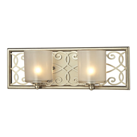 ELK Lighting 31427/2 Santa Monica Collection Aged Silver Finish - PeazzLighting