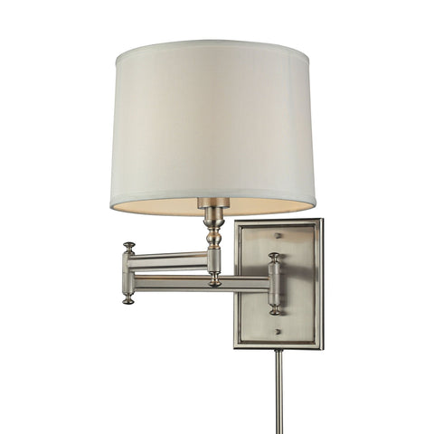 ELK Lighting 31530/1 Swingarms Collection Brushed Nickel Finish - PeazzLighting