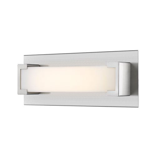1 Light Wall Sconce with Frosted Acrylic Shade