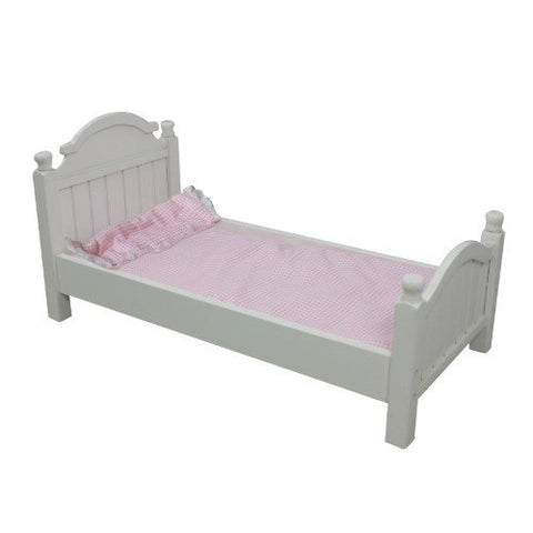 "Teamson KYW-11506A Olivia's Little World - My Sweet Girl 18"" Doll Single Bed"