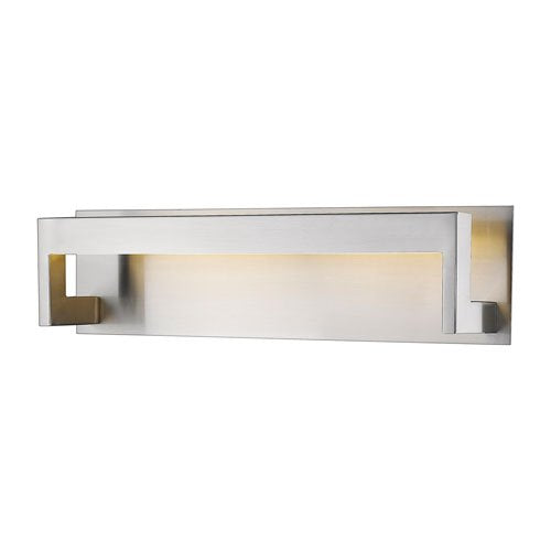 1 Light Vanity with Frosted Acrylic Shade