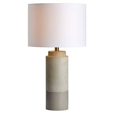 Renwil Lagertha Table Lamp in Sand Brown