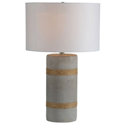 Renwil Malden Table Lamp in Rope Detail Finish