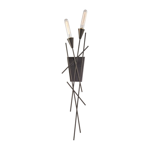ELK Lighting 32190/2 Sticks Collection Oil Rubbed Bronze Finish - PeazzLighting