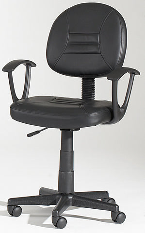 Chintaly 3379-CCH Swivel Pneumatic Gas Lift Office Chair