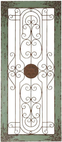 Benzara 34856 Wooden And Metal Wall Decor With Fine Attention To Details