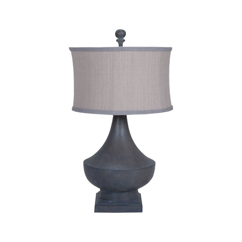 Guildmaster GUI-3516046 Vintage Collection Heritage Grey Stain Finish Table lamp