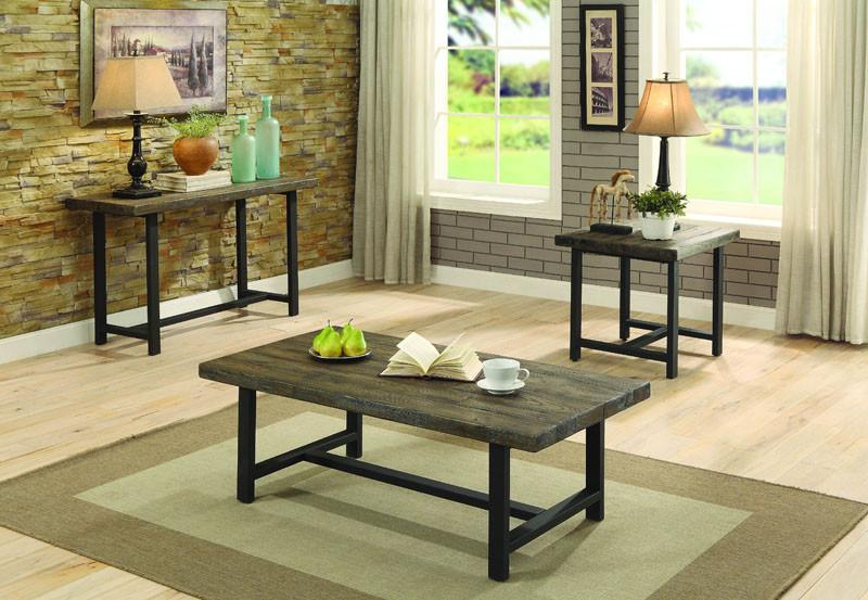 Homelegance Collection Color Burnished Natural Anacortes