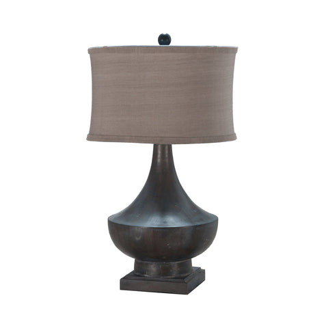 Guildmaster GUI-355031-1 Vintage Collection Heritage Grey Stain Finish Table Lamp