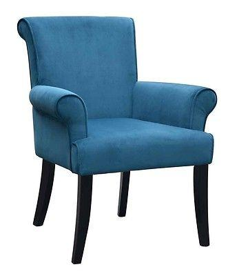 Linon Chair Dark Blue Calla