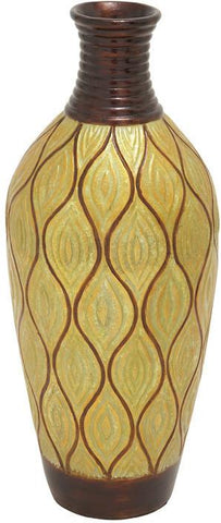 Benzara 37634 Impressive And Inspirational Terra Cotta Vase