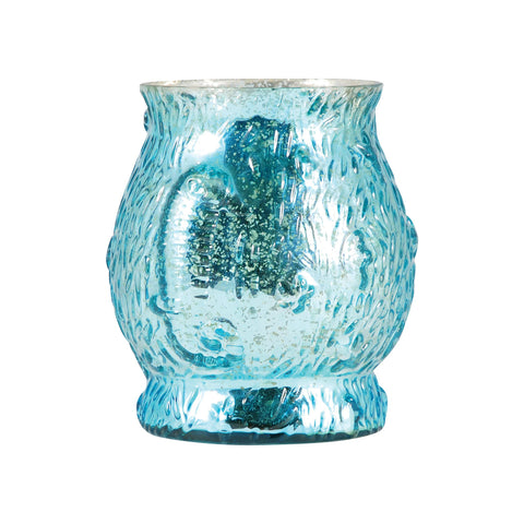 Pomeroy POM-393280 Atlantis Collection Antique Turquoise Finish Candle/Candle Holder