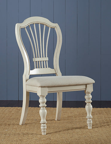 Hillsdale Furniture 5265-801 Pine Island Wheat Back Side Chair - Set of 2