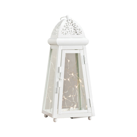 Pomeroy POM-401039 Claremont Collection White Finish Lantern