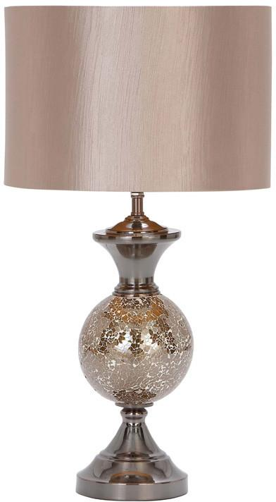Bayden Hill Metal Mosaic Table Lamp 25H