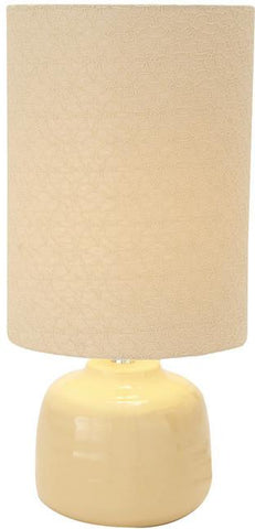 Benzara 40182 Stylish Contemporary Styled Ceramic Table Lamp