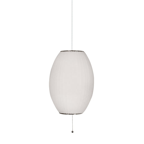 Lamp Works LAM-401 Cigar Collection White Finish Pendant
