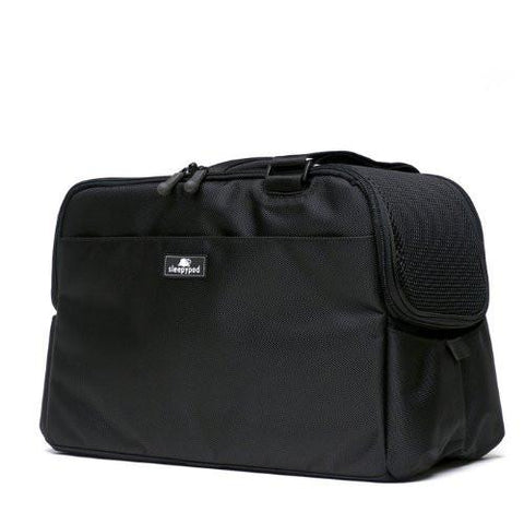 Sleepypod Atom AT-BLK Metro Pet Carrier (Jet Black) Small - Peazz.com